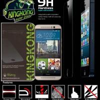 Anti Gores Kaca Kingkong Super Tempered Glass Screen HTC One M9 Plus