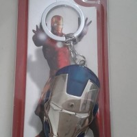 Key Chain Iron Patriot Avenger Diecast Metal