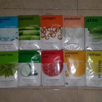grosir aritaum fresh sheet mask (masker wajah 100%