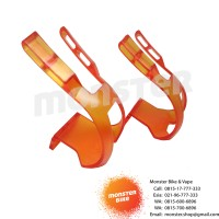 Toe Clip CKC Orange Transparant