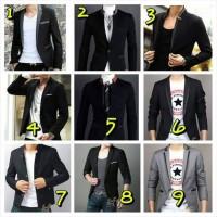 Jual jas blazer pria, blezer murah, blazer Korea, blazer casual. Murah