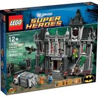 Batman Arkham Asylum Lego 10937