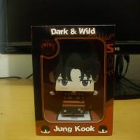 "KPOP Papertoy BTS Dark & Wild ""Jung Kook"""