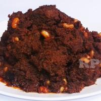Rendang Daging Sapi Campur Kacang Putih 1/2 Kg