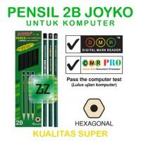 PENSIL 2B JOYKO P88 Pencil Potlot Potlod Komputer Ujian Kualitas Super