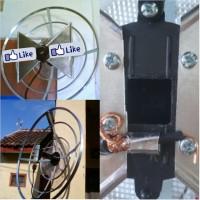 harga antenna antena wajan bolik untuk tv, penguat sinyal modem internet Tokopedia.com