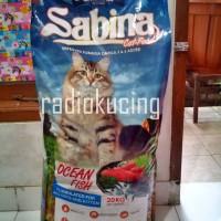 Makanan Kucing Sabina dgn Protein 33% (utk semua umur kucing)