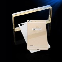 bumper lenovo vibe X2 aluminium with back case double protection