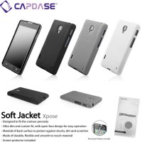 Softcase Capdase Soft Cover Case Casing Jacket LG Optimus L7 II P713