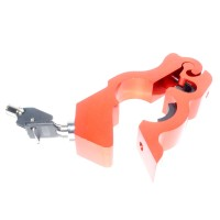 RajaMotor Kunci Aman Stang Grip Lock CNC - Orange