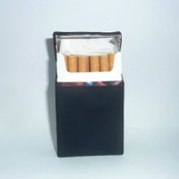 Silicone/silikon Cigarette Box - Black