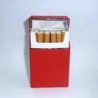 Silicone/silikon Cigarette Box - Red