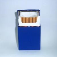 Silicone/silikon Cigarette Box - Blue