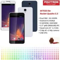 harga Polytron Rocket Quadra Lite W7550 | Blue Tokopedia.com