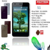 harga Polytron Rocket R2452 | 4.5 Inch | Dualsim | Violet Tokopedia.com