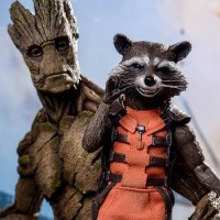 HOT TOYS - ROCKET WITH GROOT