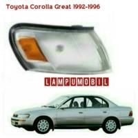 harga Lampu Sein Toyota Corolla Great Tahun 1992-1996 Merk Depo Tokopedia.com