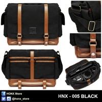 Jual Tas Kamera / Sling Bag / Messenger Bag HONX --> HNX-005 BLACK Murah
