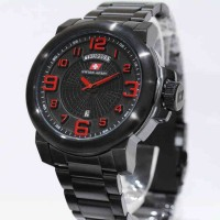 Swiss Army 6629 Black Red