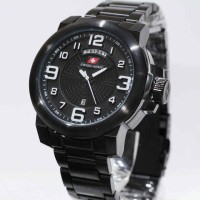 Swiss Army 6629 Black White