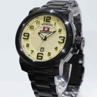 Swiss Army 6629 Black Krem-Dial