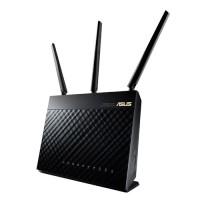 Network - Asus - Dual-band Wireless-AC1900 Gigabit RouterRT-AC68U