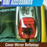 harga Cover Mirror Reflektor Mitsubishi Truck Canter Crome Tokopedia.com