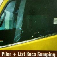 harga Lis Kaca Samping + Pilar Mitsubishi Truck Canter Crome Tokopedia.com