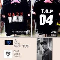 Tshirt / Kaos Big Bang MADE Member TOP