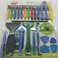 Tool Set Lengkap 25in1 untuk reparasi handphone : pentalobe,torx,dll