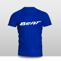 Kaos Baju Pakaian Otomotif Motor Honda Beat Logo Murah