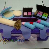 Jual Kotak Tissue Flanel Handmade - Makeup Murah