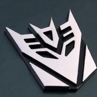 harga Emblem Stiker 3d Transformer Decepticon Tokopedia.com