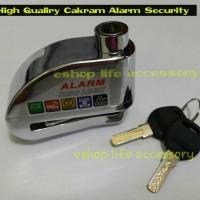 Pengaman Motor Aman Berkualitas Kunci Gembok Cakram Disc Alarm