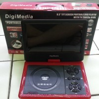 DVD PORTABLE DIGIMEDIA DM938FM 3D USB TV