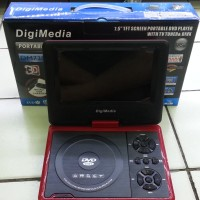 DVD PORTABLE DIGIMEDIA DM738FM 3D USB TV