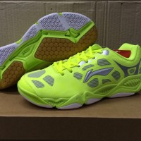 Sepatu Bulutangkis/Badminton Shoes Lining Puma AYTJ035-2 (Yellow)