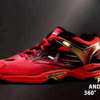Sepatu Bulutangkis/Badminton Shoes VICTOR SH-A920 (Red/Black)