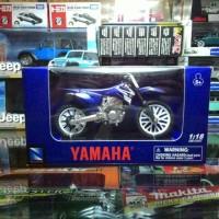 Miniatur Diecast Motor Trail Yamaha YZ-450F 2008 by NewRay