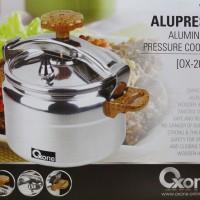 Alupress Alumunium Pressure Cooker Oxon OX-2012 ( Presto Oxone )