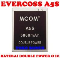 Baterai Evercoss A5s Double Power M Com