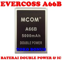 Baterai Evercoss A66b Double Power M Com