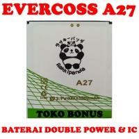 Baterai Evercoss A27 Double Power Rakki Panda
