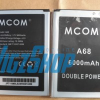 Baterai Battery Mito A68 Fantasy Power 6000mah Mcom Double Power