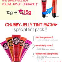 Secret Key Kiss - Chubby Jelly Tint Pack 15gr / Lip Tatoo
