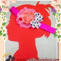 harga INAYAH PEACH bandana /headband baby Tokopedia.com