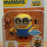 harga Minions Bob Minion With Teddy Bear Deluxe Poseable Thinkway ORI Tokopedia.com