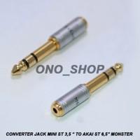 Converter Jack Mini Stereo 3,5 To Akai Monster