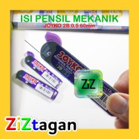ISI PENSIL MEKANIK JOYKO 2B 0.5 PL-05 60mm Pencil Leads Potlot Potlod