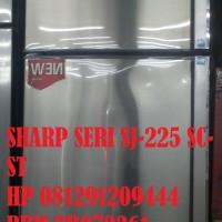 SHARP KULKAS 2 PINTU SERI SJ-225-SC-ST